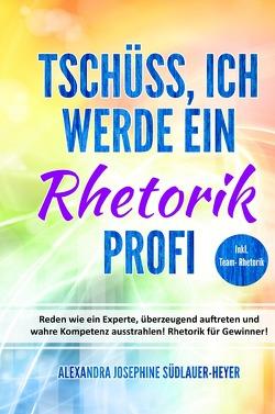 Tschüss, ich werde ein Rhetorik Profi von Südlauer-Heyer,  Alexandra Josephine