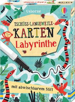 Tschüss-Langeweile-Karten: Labyrinthe von Bowman,  Lucy, Valdivia,  Paloma