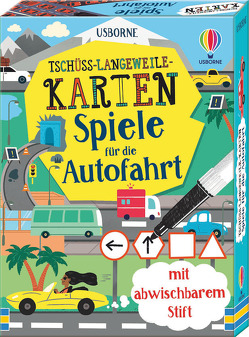 Tschüss-Langeweile-Karten: Spiele für die Autofahrt von Cook,  Lan, Mumbray,  Tom