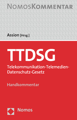 TTDSG von Assion,  Simon
