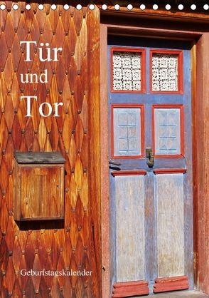 Tür und Tor – Geburtstagskalender (Tischkalender 2018 DIN A5 hoch) von Andersen,  Ilona