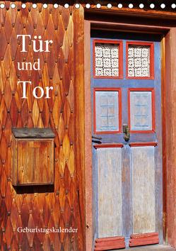 Tür und Tor – Geburtstagskalender (Tischkalender 2020 DIN A5 hoch) von Andersen,  Ilona