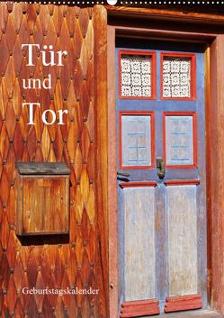 Tür und Tor – Geburtstagskalender (Wandkalender 2020 DIN A2 hoch) von Andersen,  Ilona