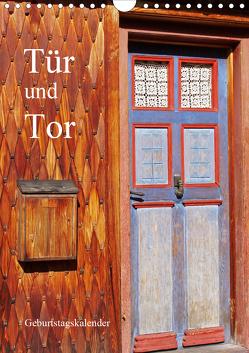 Tür und Tor – Geburtstagskalender (Wandkalender 2020 DIN A4 hoch) von Andersen,  Ilona