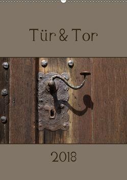 Tür und Tor (Wandkalender 2018 DIN A2 hoch) von Flori0,  k.A.