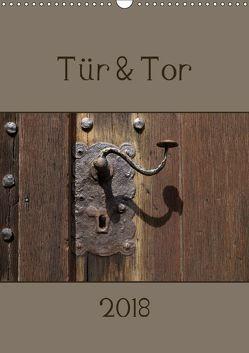 Tür und Tor (Wandkalender 2018 DIN A3 hoch) von Flori0,  k.A.