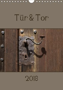 Tür und Tor (Wandkalender 2018 DIN A4 hoch) von Flori0,  k.A.