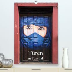 Türen in Funchal (Premium, hochwertiger DIN A2 Wandkalender 2020, Kunstdruck in Hochglanz) von Rusch - www.w-rusch.de,  Winfried