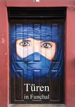 Türen in Funchal (Wandkalender 2020 DIN A2 hoch) von Rusch - www.w-rusch.de,  Winfried