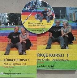 Türkçe Kursu 1 mit Schlüssel und CD von Turan,  Tevfik