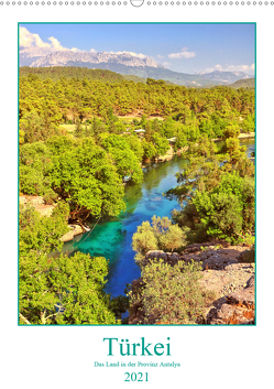 Türkei – Das Land in der Provinz Antalya (Wandkalender 2021 DIN A2 hoch) von Hackstein,  Bettina