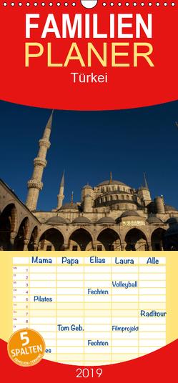 Türkei – Familienplaner hoch (Wandkalender 2019 , 21 cm x 45 cm, hoch) von Helmstedt,  Jens