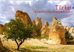 Türkei – fantastisches Kappadokien (Wandkalender 2021 DIN A2 quer) von Kuebler,  Harry