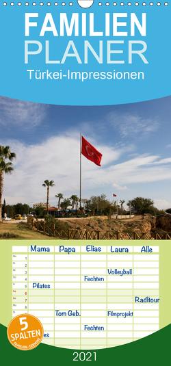 Türkei-Impressionen – Familienplaner hoch (Wandkalender 2021 , 21 cm x 45 cm, hoch) von Prediger,  Klaus, Prediger,  Rosemarie