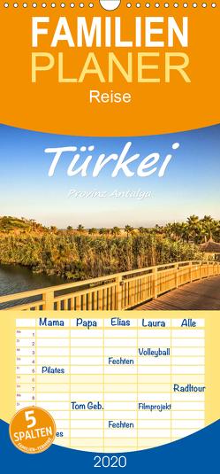 Türkei – Provinz Antalya – Familienplaner hoch (Wandkalender 2020 , 21 cm x 45 cm, hoch) von Hackstein,  Bettina