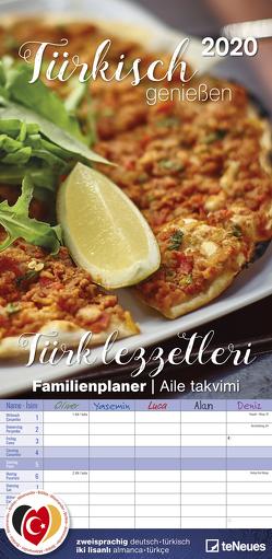 Türkisch genießen 2020 Familienplaner