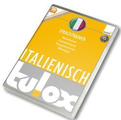 tulox Sprachtrainer Italienisch – Vokabeltrainer, Konjugations- und Grammatiktrainer inklusive e-Euro-Wörterbuch mit 20.000 fremdsprachlich vertonten Vokabeln