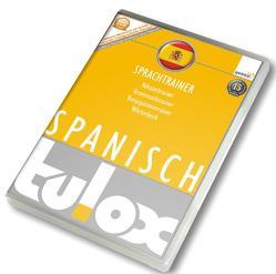 tulox Sprachtrainer Spanisch – Vokabeltrainer, Konjugations- und Grammatiktrainer inklusive e-Euro-Wörterbuch mit 20.000 fremdsprachlich vertonten Vokabeln
