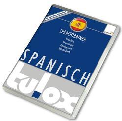 tulox Sprachtrainer Spanisch – Vokabeltrainer, Konjugations- und Grammatiktrainer inklusive großem e-Taschen-Wörterbuch mit 90.000 fremdsprachlich vertonten Vokabeln