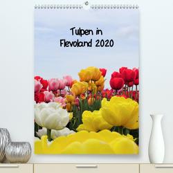 Tulpen in Flevoland (Premium, hochwertiger DIN A2 Wandkalender 2020, Kunstdruck in Hochglanz) von Konkel,  Christine