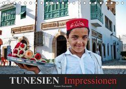 TUNESIEN Impressionen (Tischkalender 2019 DIN A5 quer) von Kuczinski,  Rainer