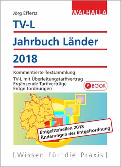TV-L Jahrbuch Länder 2018 von Effertz,  Jörg