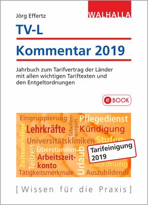 TV-L Kommentar 2019 von Effertz,  Jörg