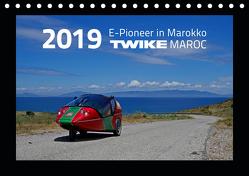 TWIKE Maroc 2019 – E-Pionier in Marokko (Tischkalender 2019 DIN A5 quer) von Brutschin,  Silvia