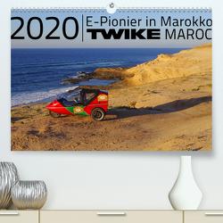 TWIKE Maroc 2020 – E-Pionier in Marokko (Premium, hochwertiger DIN A2 Wandkalender 2020, Kunstdruck in Hochglanz) von Brutschin,  Silvia