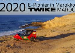 TWIKE Maroc 2020 – E-Pionier in Marokko (Wandkalender 2020 DIN A2 quer) von Brutschin,  Silvia