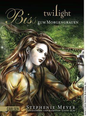 Twilight: Biss zum Morgengrauen – der Comic 1 von Hillefeld,  Marc, Kim,  Young, Meyer,  Stephenie