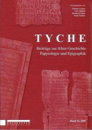 Tyche – Band 24 von Corsten,  Thomas, Mitthof,  Fritz, Palme,  Bernhard, Taeuber,  Hans