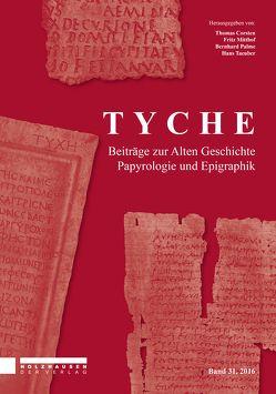 Tyche – Band 31 von Corsten,  Thomas, Mitthof,  Fritz, Palme,  Bernhard, Taeuber,  Hans