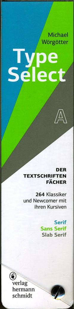 TypeSelect von Wörgötter,  Michael
