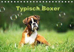 Typisch Boxer (Tischkalender 2018 DIN A5 quer) von Janetzek,  Yvonne