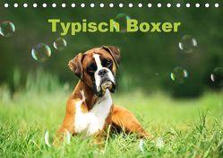 Typisch Boxer (Tischkalender 2019 DIN A5 quer) von Janetzek,  Yvonne