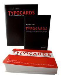 TYPOCARDS – Regeln und Begriffe zur Mikrotypografie von Albers,  Reinhard