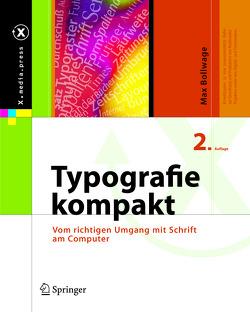 Typografie kompakt von Bollwage,  Max