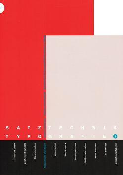 Typografische Grundlagen von Sommer,  Martin