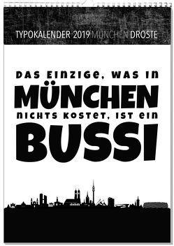 Typokalender München 2019 von Sassor,  Tanja