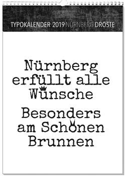 Typokalender Nürnberg 2019 von Sassor,  Tanja