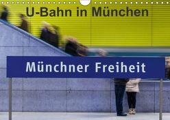 U-Bahn in München (Wandkalender 2018 DIN A4 quer) von Faltin,  Klaus
