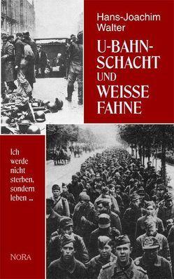 U-Bahnschacht und weisse Fahne von Walter,  Hans J