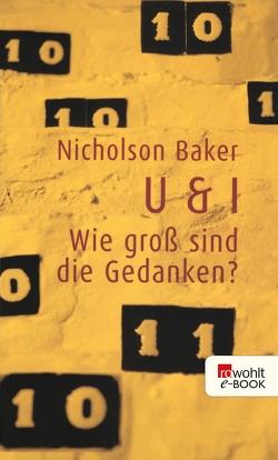 U & I von Baker,  Nicholson, Schönfeld,  Eike, Zingarelli,  Marc