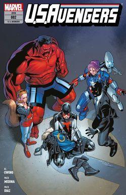 U.S.Avengers von Arizmendi,  Alex, Diaz,  Paco, Ewing,  Al, Kronsbein,  Bernd, Medina,  Paco