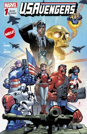 U.S.Avengers von Barneri,  Carlo, Diaz,  Paco, Ewing,  Al, Kronsbein,  Bernd, Medina,  Paco