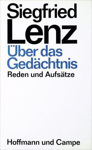 Über das Gedächtnis von Lenz,  Siegfried
