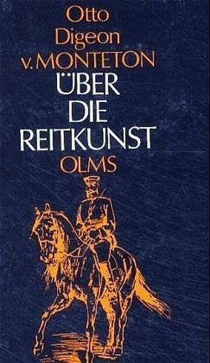 Über die Reitkunst von Monteton,  Otto D von