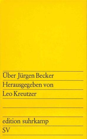 Über Jürgen Becker von Kreutzer,  Leo