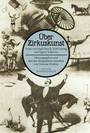 Über Zirkuskunst von Winkler,  Dietmar